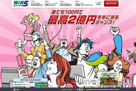 JRA 5重勝単勝式「WIN5」