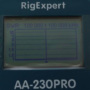 AA-230PRO画面