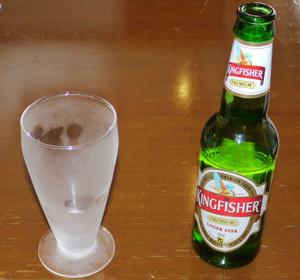 インドのビール King Fisher